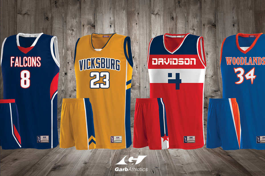 Custom Basketball Jerseys  - just a few out of the hundreds of styles available